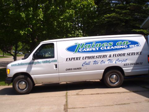 Haines On Carpet Cleaning truck